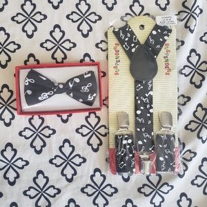 Other - Kids suspender and bow tie set